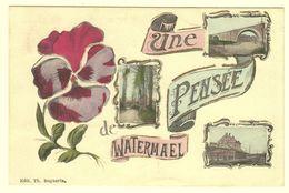A2167[Postkaart] Une Pensée De Watermael (Marco Marcovici, Th. Bogaerts) [Watermaal Bosvoorde Multivues] - Watermael-Boitsfort - Watermaal-Bosvoorde
