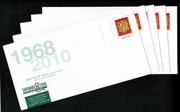 ANDORRE ANDORRA Superbe Lot De 5 PAP Prêt à Poster Commerciaux Divers Thèmes Illustrés  Tous Différents Lot 1   LUXE - Postwaardestukken & Prêts-à-poster