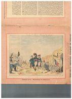 JM07.06 / VIEUX PAPIERS /  PROTEGE-CAHIERS (1892...1898 ) - FRANCE- AUTOUR DU DRAPEAU TRICOLORE / REDDITION DE MAYENCE - Protège-cahiers