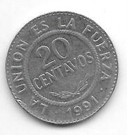 Bolivia 20 Centavos 1991 Km 203 - Bolivia