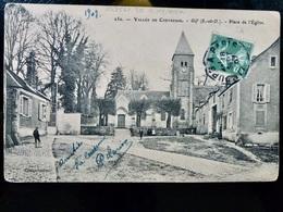 CARTE POSTALE _ CPA VINTAGE : VALLEE De CHEVREUSE _ GIF _ Place De L'Eglise     // CPA.L.Div41 - Autres Communes