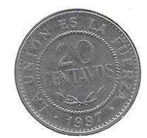*Bolivia 20 Centavos 1997 Km 203 - Bolivia