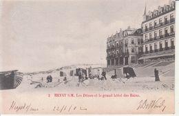 Heyst S. M. - Les Dûnes Et Le Grand Hôtel Des Bains - Heist