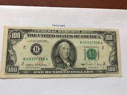United States Franklin $100.00 Banknote 1988 - Nationale Valuta