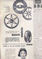 (pagine-pages)PUBBLICITA' PIRELLI  Oggi1954/43.+2 - Libri, Riviste, Fumetti