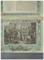 JM07.06 / VIEUX PAPIERS /  PROTEGE-CAHIERS (1892...1898 ) - FRANCE-HISTOIIRE - ENTREE DE HENRI IV A PARIS EN 1594 - Protège-cahiers