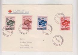GERMANY WW II SERBIA 1941 Nice Cover To Germany - Besetzungen 1938-45