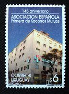 1998 URUGUAY Mnh - Asoc. Española De Socorros Mutuos Sanatorio Sanatorium Hospital Hopital Krankenhaus- Yvert 1749 - Uruguay
