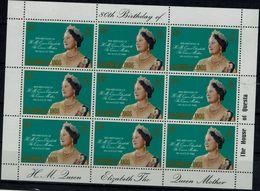 SOLOMON ISLANDS 1980 80th BIRTHDAY OF H,M,QUEEN ELIZABETH MINI SHEET MI No 417 MNH VF!! - Samoa