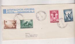GERMANY WW II SERBIA 1942 Nice Cover To Germany - Besetzungen 1938-45