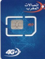 40 Maroc Marokko Morocco Carte Gsm Maroc Telecom Avec Puce - Maroc