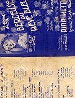 Rina Ketty Vedette Pathé Berceuse Du Rêve Bleu Valse Chanty J.Vaissade Enregistré Disque Gramophone Jean Vaissade - Partituras