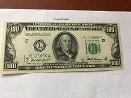 United States Franklin $100.00 Crispy Banknote 1950 - Nationale Valuta