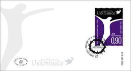 2015 FDC 4/15, Easter, Croat Post Mostar, Bosnia And Herzegovina, - Bosnie-Herzegovine