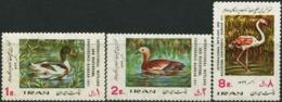 IRAN 1971 Protection Of Marsh Birds And Waterfowl Ramsar Duck Ducks Flamingo Animals Fauna MNH - Ducks