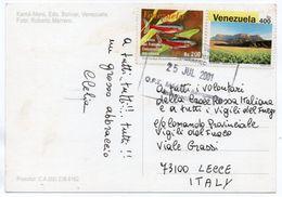 VENEZUELA - LA GRAN SABANA / THEMATIC STAMPS-FISH/ ANNIVERSARY AMAZON CO-OPERATION TREATY /PETROLEUM EXPORTING COUNTRIES - Venezuela