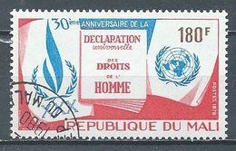 Mali YT N°317 Déclaration Universelle Des Droits De L'homme Oblitéré ° - Mali (1959-...)