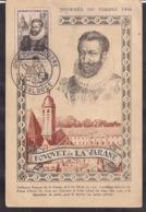 France - Carte Postale - 1946 - Journée Du Timbre - Fouquet De La Varane - Cygnus - Cartas Máxima