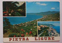 PIETRALIGURE - Riviera Delle Palme - Notturno, Passeggiata - Pietra Ligure (SV) -  Vg L3 - Savona