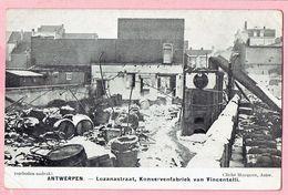 Antwerpen - Lozanastraat - Konservenfabriek Van Vincentelli - Aartselaar