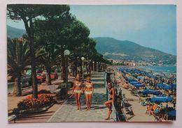 ALASSIO (Savona) - Riviera Dei Fiori - Passeggiata A Mare - Vg L3 - Savona