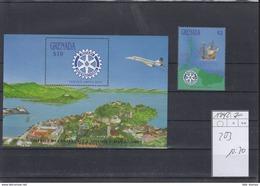 Grenada Michel Cat.No. Mnh/** 1742 + Sheet 203 Rotary - Grenada (1974-...)