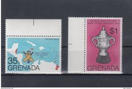 Grenada Michel Cat.No. Mnh/** 773/774 Cricket - Grenada (1974-...)