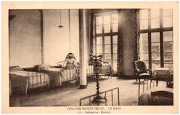 72 LE MANS - Collège Sainte-Croix - Infirmerie - Dortoir - Le Mans