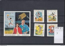 Kongo Brazzaville Michel Cat.No. Mnh/** 217/220 + Sheet 7 - Congo - Brazzaville