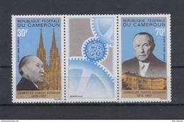Kamerun Michel Cat.No. Mnh/** 528/529 Adenauer - Cameroun (1960-...)