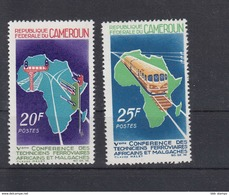 Kamerun Michel Cat.No. Mnh/** 495/496 - Cameroun (1960-...)
