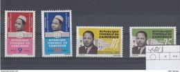 Kamerun Michel Cat.No. Mnh/** 440/443 - Cameroun (1960-...)