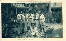 75 Exposition Coloniale Internationale PARIS 1931 - Pavillon De La Guadeloupe - Orchestre Stellio - Mostre
