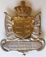 Allemagne, Wurttemb Kiegerbund Stuttgard - Militaria