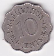 Ile Maurice. 10 Cents 1947, George VI - Mauritius