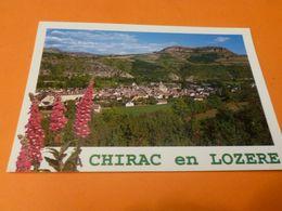 Dep 48 Chirac En Lozere  Vue Générale De Chirac Dominé Par Le Saint Bonnet   ( écrite ) Edit Apa Poux - Autres Communes