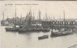 Zeebrugge , Panorama Et Refuge Des Pêcheurs - Zeebrugge