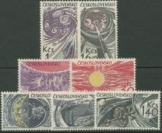 Tschechoslowakei 1965 Weltraumforschung 1515/21 Postfrisch - Czechoslovakia