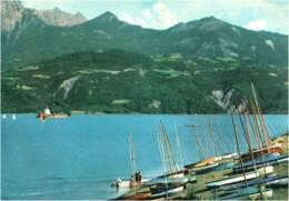 05- HAUTES ALPES - Serre Ponçon -CPM Barrage De Serre Ponçon , Nautisme à La Baie St Michel - Altri Comuni