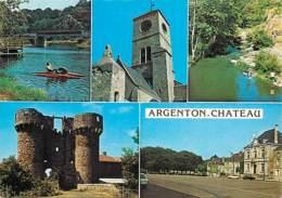 79 - Argenton-Château - Multivues - Automobiles - CPM - Voir Scans Recto-Verso - Argenton Chateau