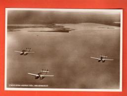 MOA-04 RARE Escadron Militaire Italien Italia  Squadriglia In Volo I-BALB Crocia Aerea Del Decennale - 1919-1938