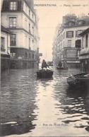 75 - PARIS 05 ° - INONDATIONS De PARIS ( Janvier 1910 ) Rue Du Haut Pavé - CPA - Seine - De Overstroming Van 1910