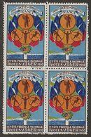 France 1930 Vignette Gymnastique | Fête Pâques Alger Bloc Beau Sans Charnière - Commemorative Labels
