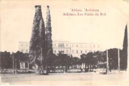 GRECE Greece : ATHENES Les Palais Du Rhône - CPA - Griechenland Griekenland Grecia - Grèce