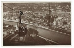 CLA407 - TRENTO FUNIVIA SARDAGNA E PANORAMA 1932 - Trento