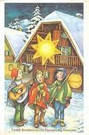 Vrolijk Kerstfeest En Een Voorspoedig Nieuwjaar Children Traditional Star - Gruss Aus.../ Grüsse Aus...