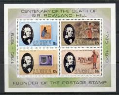 Zambia 1979 Sir Rowland Hill MS MUH - Zambia (1965-...)
