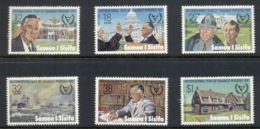 Samoa 1981 Intl. Year Of Disabled, Roosevelt MUH - Samoa