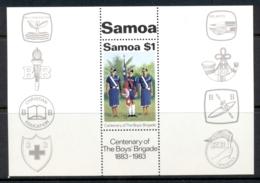 Samoa 1983 Boys Brigade MS MUH - Samoa