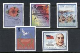 Samoa 1987 Independence 25th Anniv. MUH - Samoa